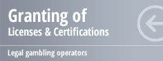Granding of Licenses & Certifications